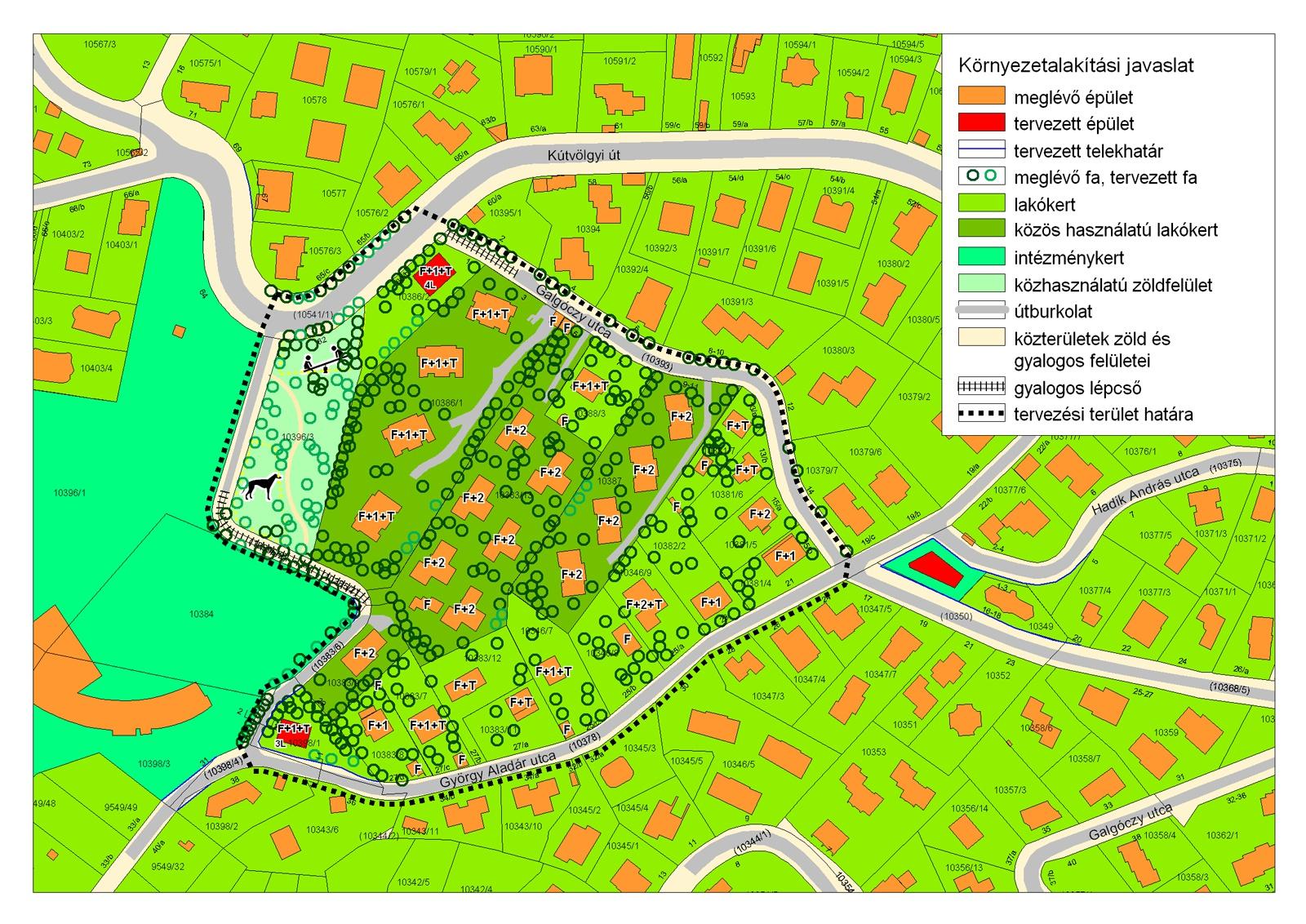 bp 12 ker térkép Budapest XII. kerület György Aladár utca kerületi szabályozási  bp 12 ker térkép